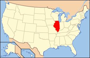 Illinois State Map